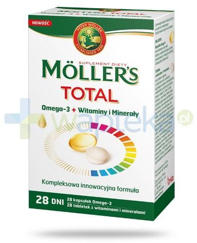 Mollers Total 28 kapsułek + 28 tabletek