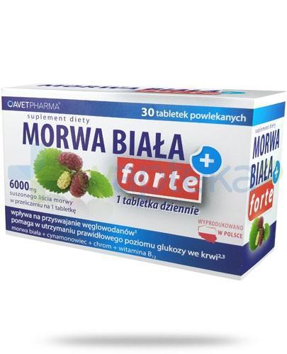 Morwa Biała Plus Forte 30 tabletek