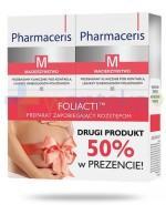 Pharmaceris M Foliacti krem zapobiegający rozstępom 2x 150 ml