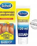 Scholl Active Repair K+ krem na pękające pięty 60 ml
