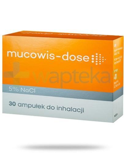 Mucowis-Dose 5% NaCl roztwór do inhalacji 30 ampułek