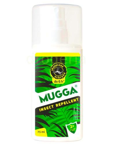 Mugga spray repelent z 9,5% DEET dla dzieci na kleszcze i komary 75 ml
