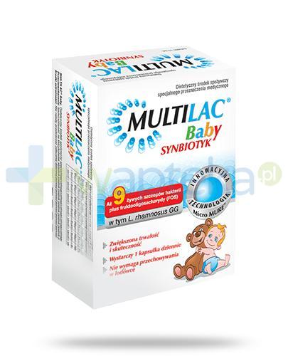 MULTILAC Baby Synbiotyk (Probiotyk + Prebiotyk) 10 saszetek [Data ważności 31-01-2018]