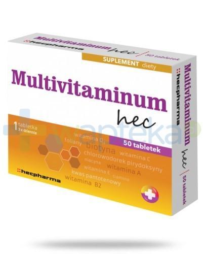 Multivitaminum Hec 50 tabletek