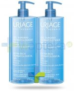 Uriage Eau Thermale dermatologiczny żel do mycia 2x 500 ml [DWUPAK]