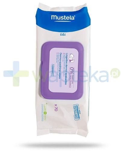 Mustela Bebe chusteczki oczyszczająco łagodzące bezzapachowe 70 sztuk