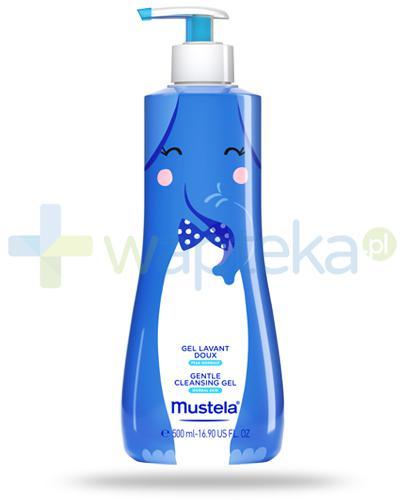 Mustela Bebe Enfant delikatny żel do mycia włosów i ciała 500 ml [EDYCJA LIMITOWANA]
