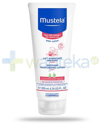 Mustela Bebe Enfant łagodzące mleczko nawilżające do skóry bardzo wrażliwej 200 ml