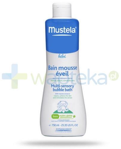 Mustela Bebe Enfant płyn bąbelkowa kąpiel 750 ml