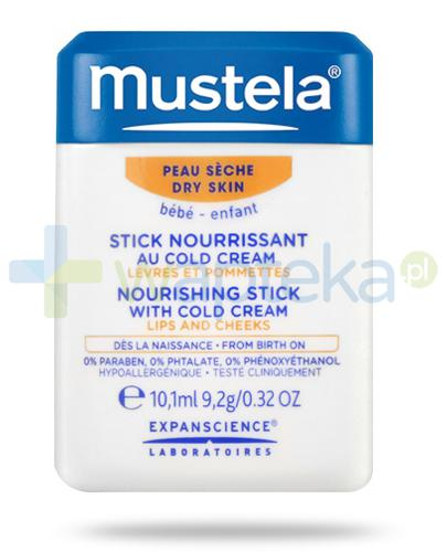 Mustela Bebe Stick sztyft ochronny z Cold Cream 10,1 ml