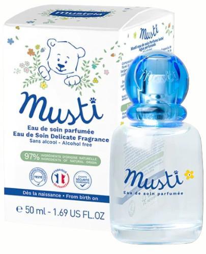 Mustela Musti pielęgnacyjna woda perfumowana 50 ml