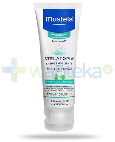 Mustela Stelatopia krem emolient do skóry skłonnej do atopii od dnia narodzin 40 ml