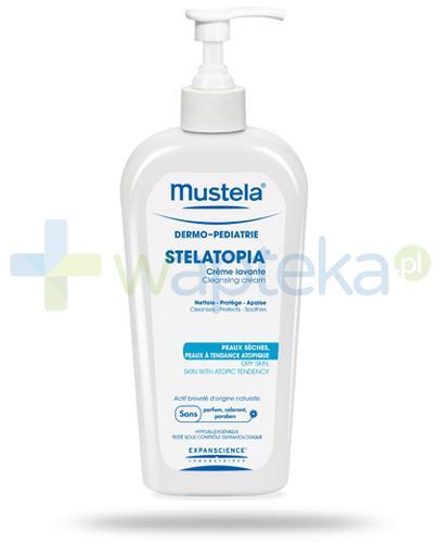 Mustela Stelatopia krem myjący do skóry suchej i atopowej 200 ml [STARA WERSJA]