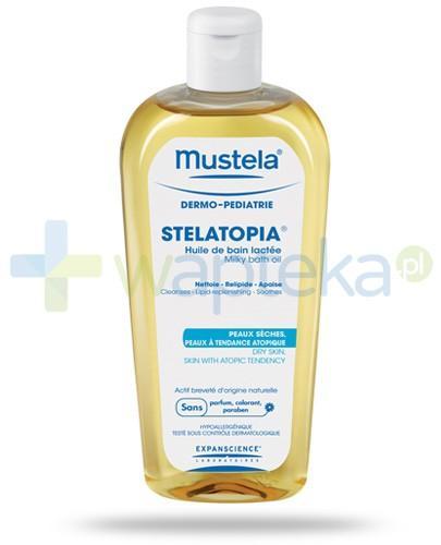 Mustela Stelatopia olejek mleczny do kąpieli 200 ml [Data ważności 31-03-2019]