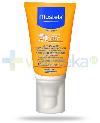 Mustela Sun mleczko przeciwsłoneczne SPF50+ 40 ml