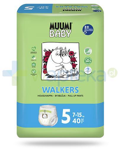 Muumi Baby 5 Walkers 7-15kg jednorazowe pieluchomajtki dla dzieci 40 sztuk