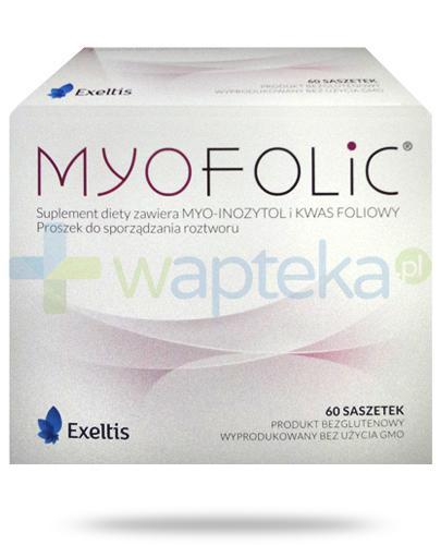MyoFolic kwas foliowy 60 saszetek
