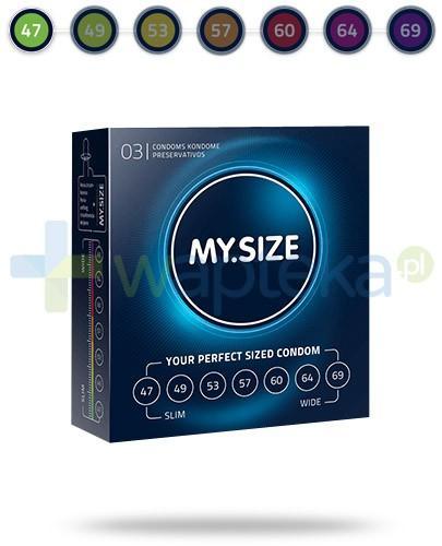 MY.SIZE 47 prezerwatywy 3 sztuki