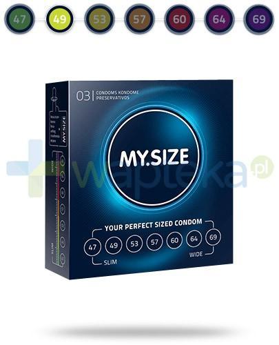 MY.SIZE 49 prezerwatywy 3 sztuki