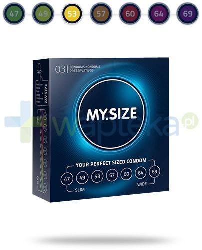 MY.SIZE 53 prezerwatywy 3 sztuki