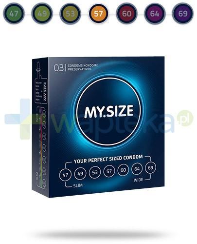 MY.SIZE 57 prezerwatywy 3 sztuki