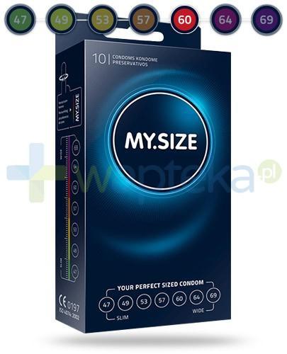 MY.SIZE 60 prezerwatywy 10 sztuk
