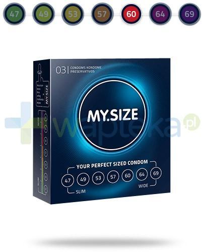 MY.SIZE 60 prezerwatywy 3 sztuki