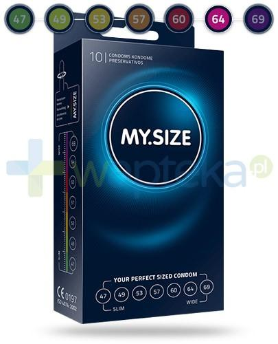 MY.SIZE 64 prezerwatywy 10 sztuk