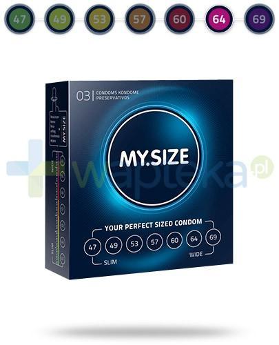 MY.SIZE 64 prezerwatywy 3 sztuki