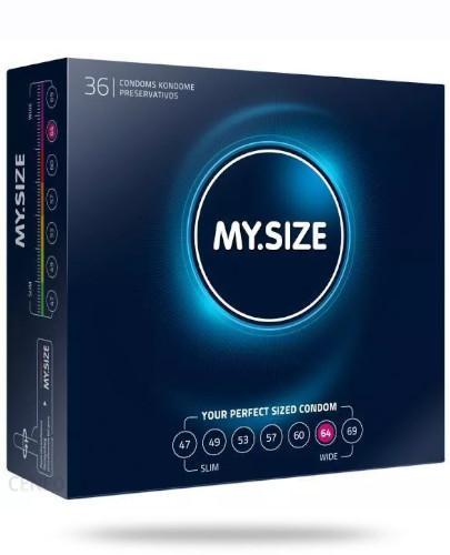 MY.SIZE 64 prezerwatywy 36 sztuk