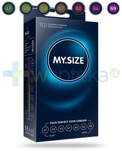 MY.SIZE 69 prezerwatywy 10 sztuk