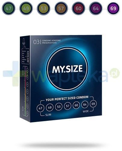 MY.SIZE 69 prezerwatywy 3 sztuki