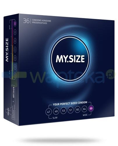 MY.SIZE 69 prezerwatywy 36 sztuk