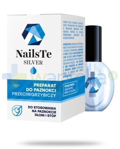 NAILS-TE SILVER preparat przeciwgrzybiczym 5ml