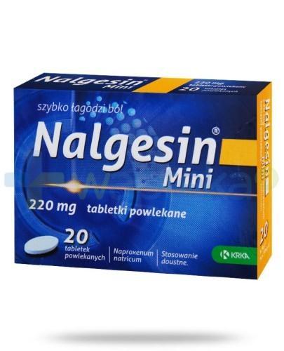 Nalgesin Mini 20 tabletek