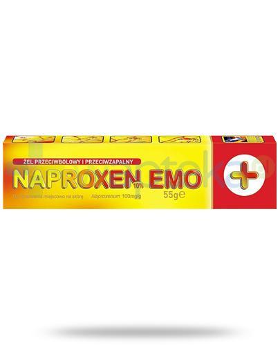 Naproxen Emo Plus 100mg/g żel przeciwbólowy i przeciwzapalny 55 g
