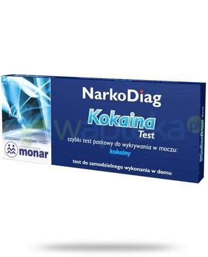 NarkoDiag test paskowy na kokainę 1 sztuka