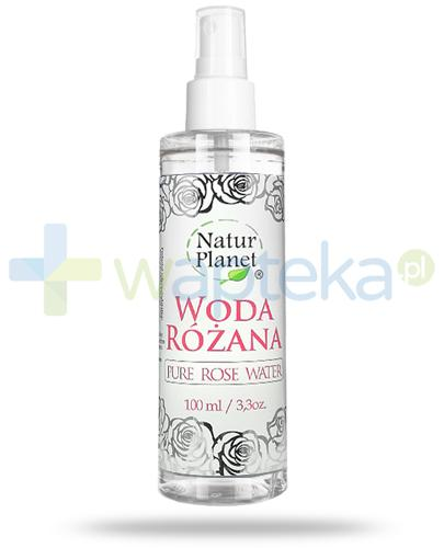 Natur Planet woda różana 100 ml