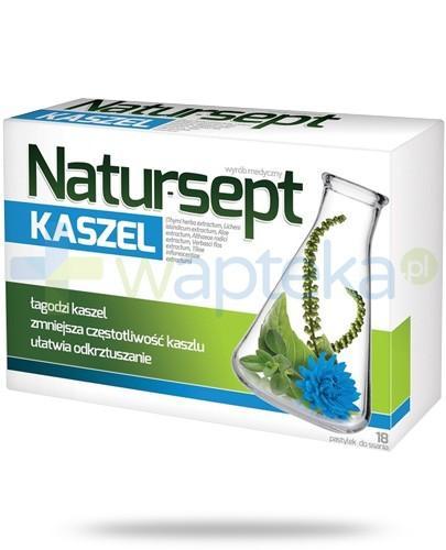 NaturSept Kaszel 18 pastylek - Data ważności 31-10-2017
