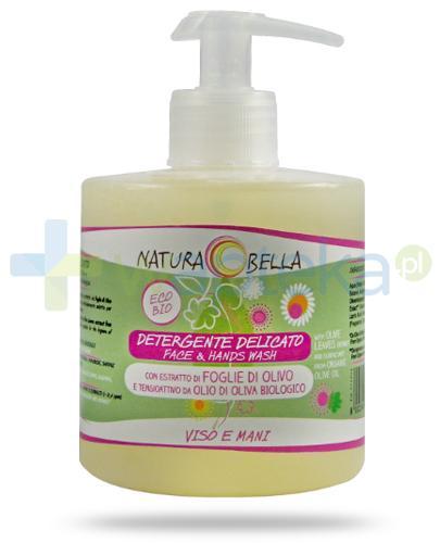 Naturabella delikatny płyn do mycia twarzy z wyciągiem z liści oliwnych 350 ml