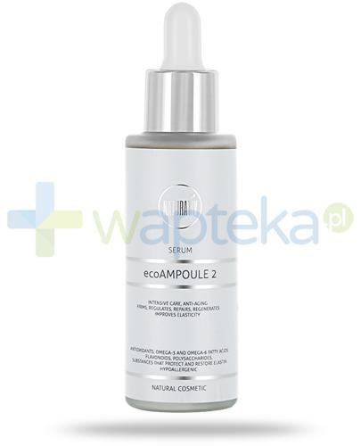 Naturativ ecoAMPOULE 2 serum przeciwstarzeniowe do twarzy i szyi 30 ml