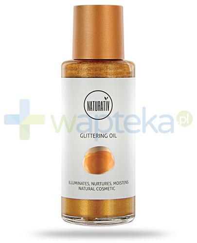 Naturativ Glittering Oil rozświetlający olejek do ciała i twarzy 100 ml
