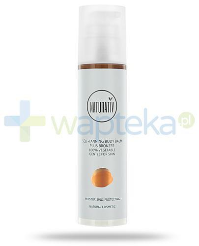 Naturativ Self-Tanning Body Balm Plus Brozner samoopalający balsam do ciała z bronzerem 200 ml