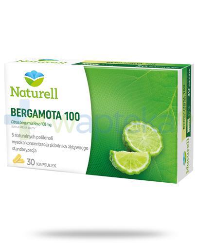 Naturell Bergamota 100 30 kapsułek