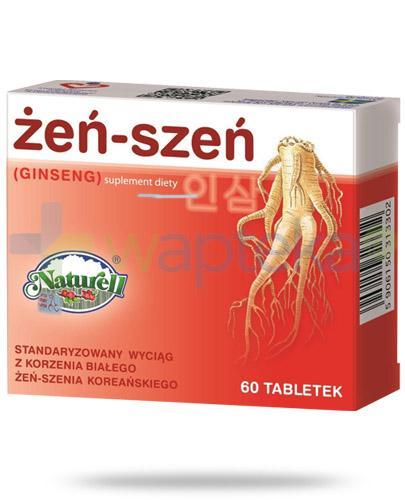 Naturell Ginseng Żeń-szeń 60 tabletek