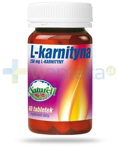 Naturell L-karnityna 250mg 60 tabletek