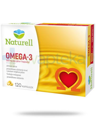 Naturell Omega-3 500mg 120 kapsułek