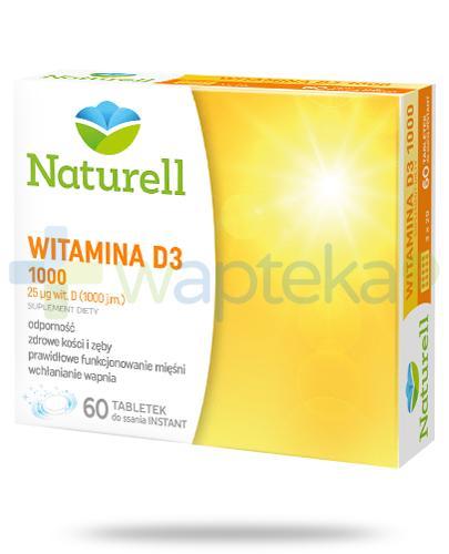 Naturell Witamina D3 1000 60 tabletek