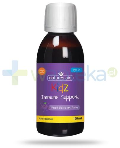 Natures Aid Kidz Immune Support płyn dla dzieci 6+ 150 ml