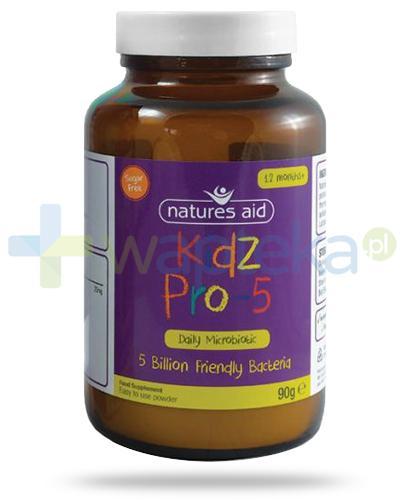 Natures Aid Kidz Pro-5 Microbiotic proszek dla dzieci 12m+ 90 g